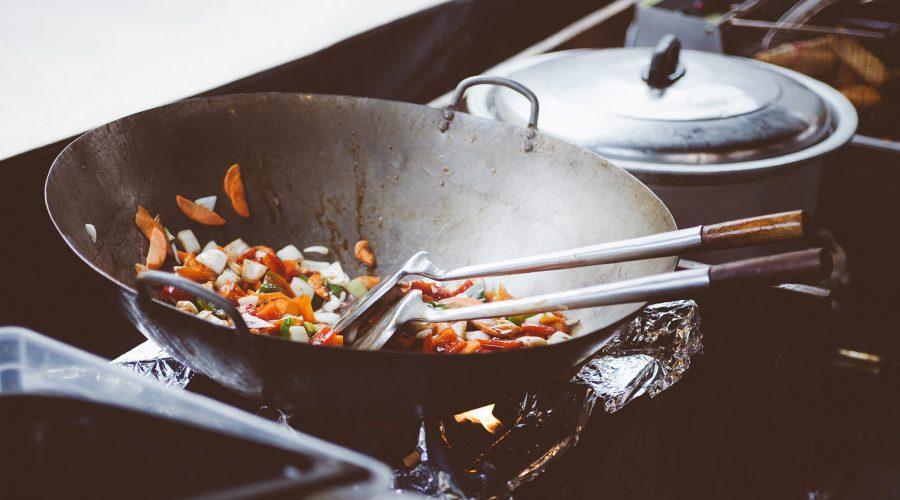 Vegetarisches Thai Risotto